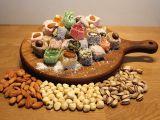 Frutos secos e nozes naturais