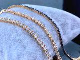 Pulseira de suyolu com diamantes ou safir preto