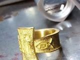 Fazemos seu anel de ouro à sua encomenda