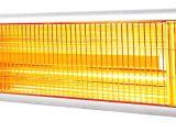 Aquecedores infravermelhos para ambientes internos e externos