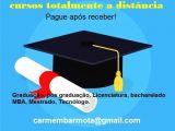 Seu diploma em pouco tempo - E só paga após recebimento